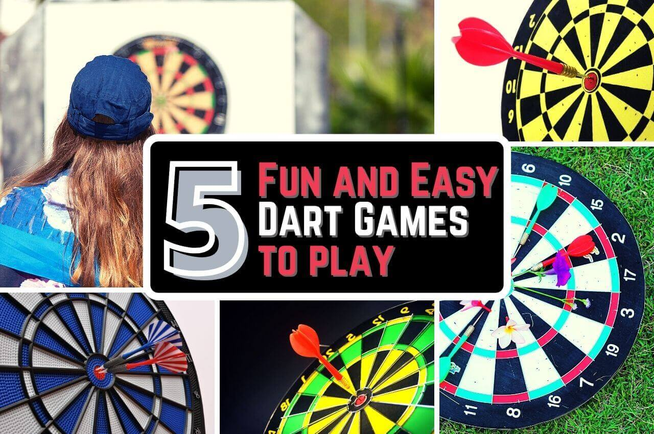 image of 5 fun and easy dart games