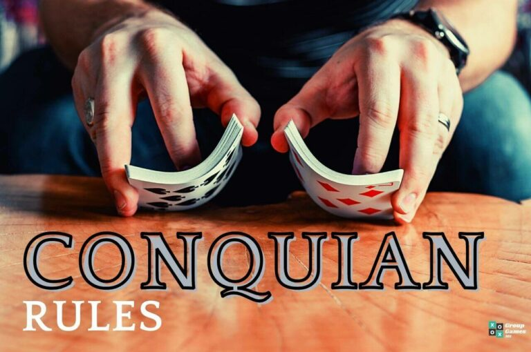 Conquian card game image