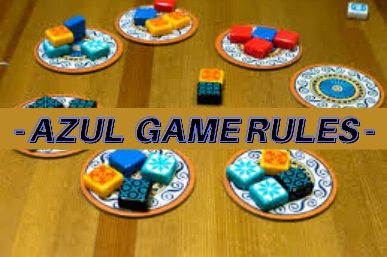Azul game rules image