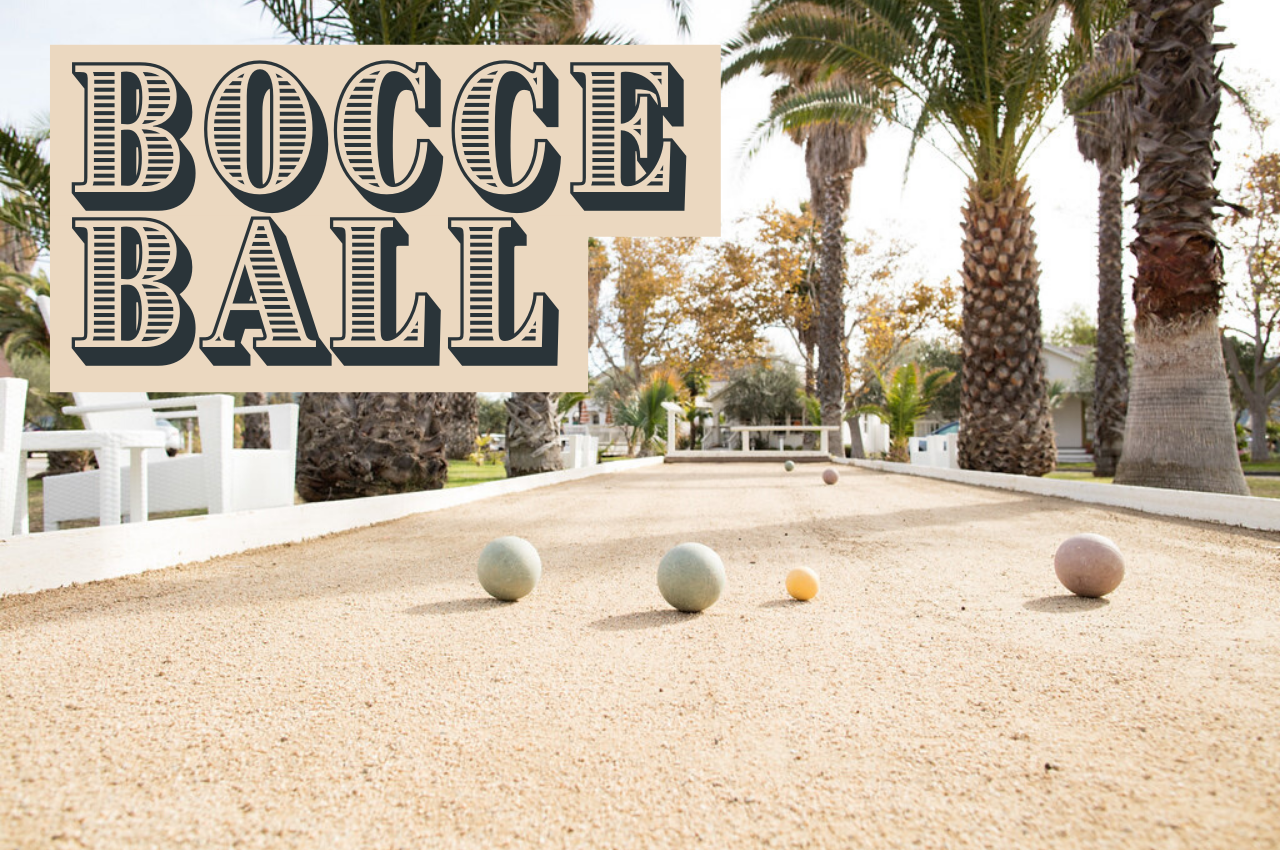 bocce ball game rules image