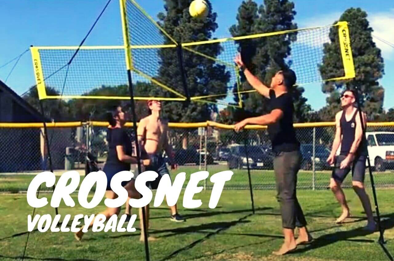 crossnet volleyball game rules