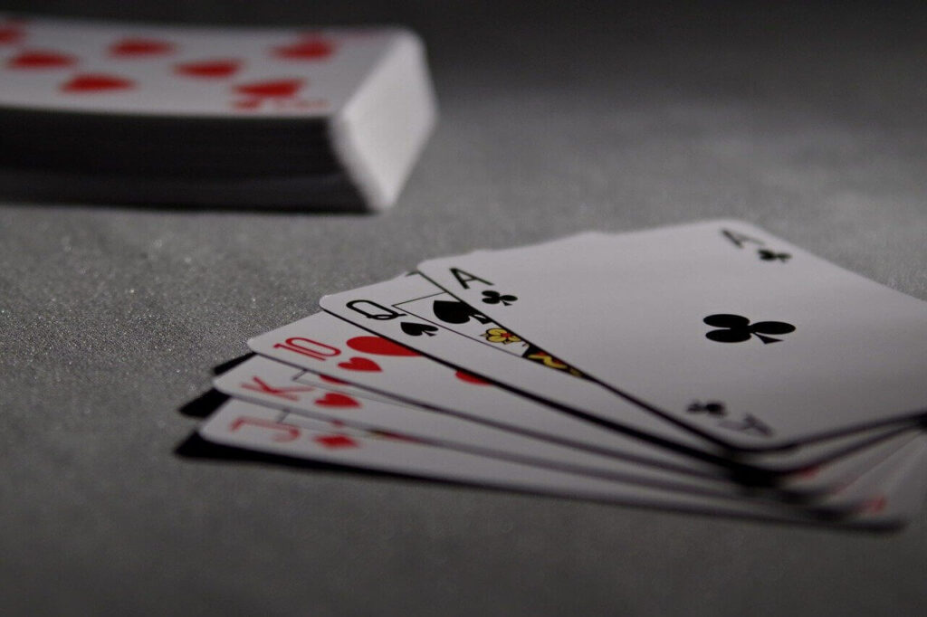 Chase the ace card game rules image