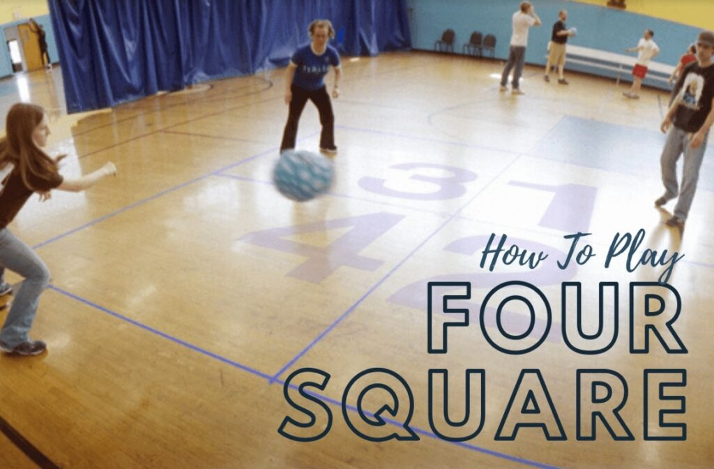 How to play foursquare image
