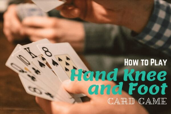 Hand knee foot card game image