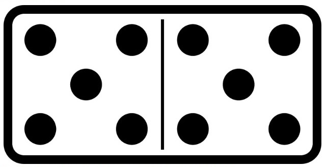 All-Fives domino image