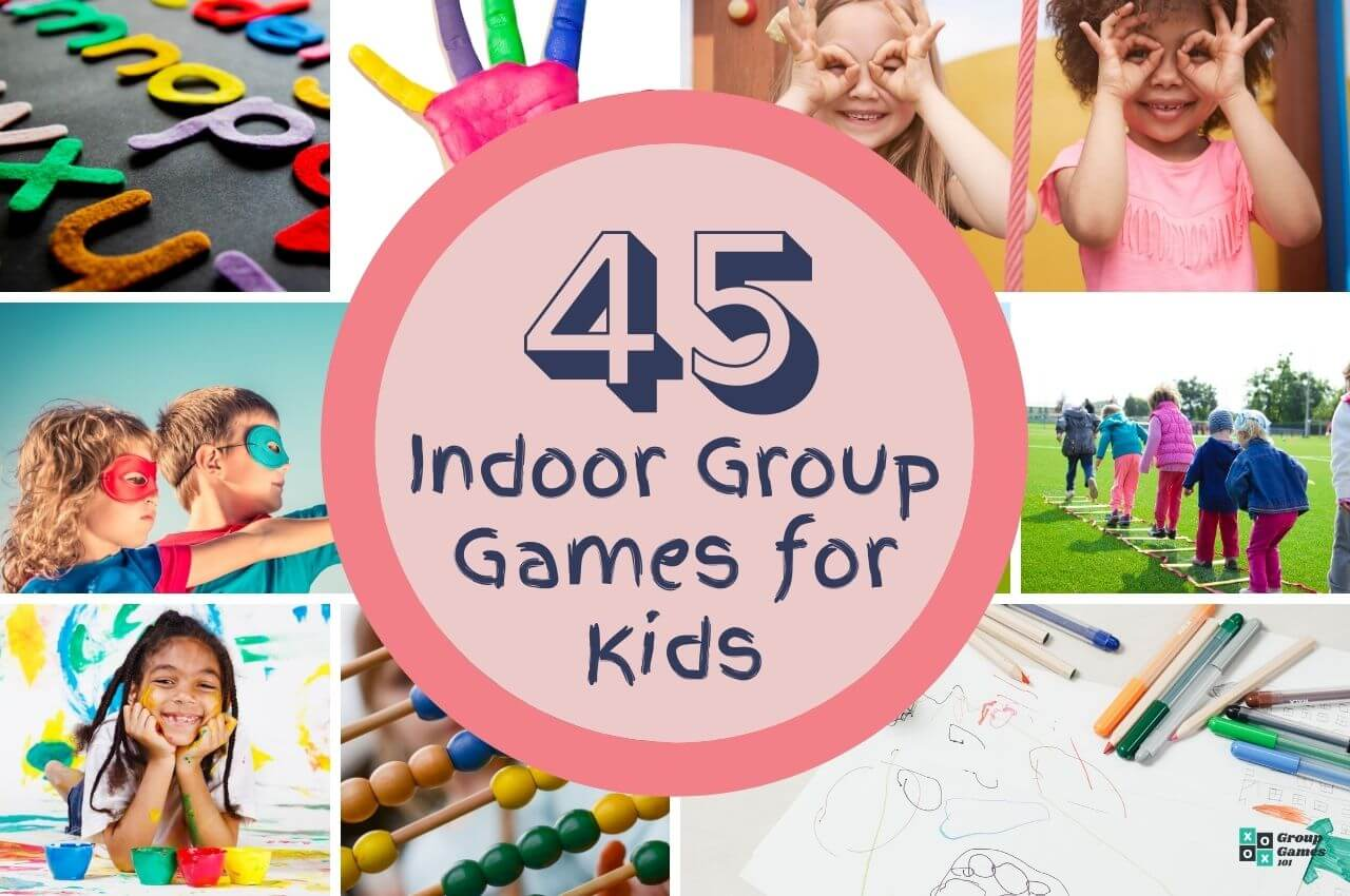 indoor group games for kids to play