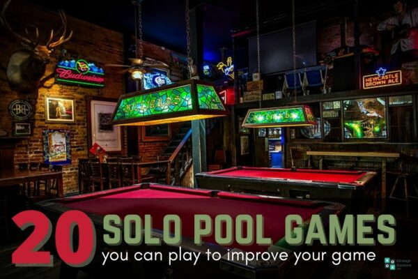solo pool games to play image