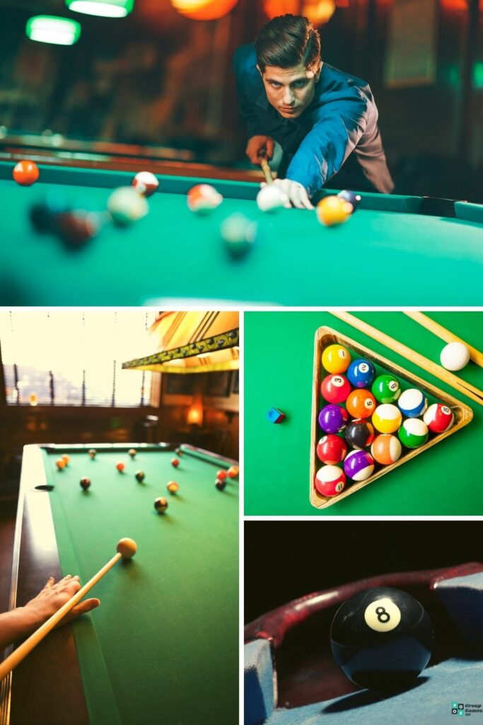 playing pool solo