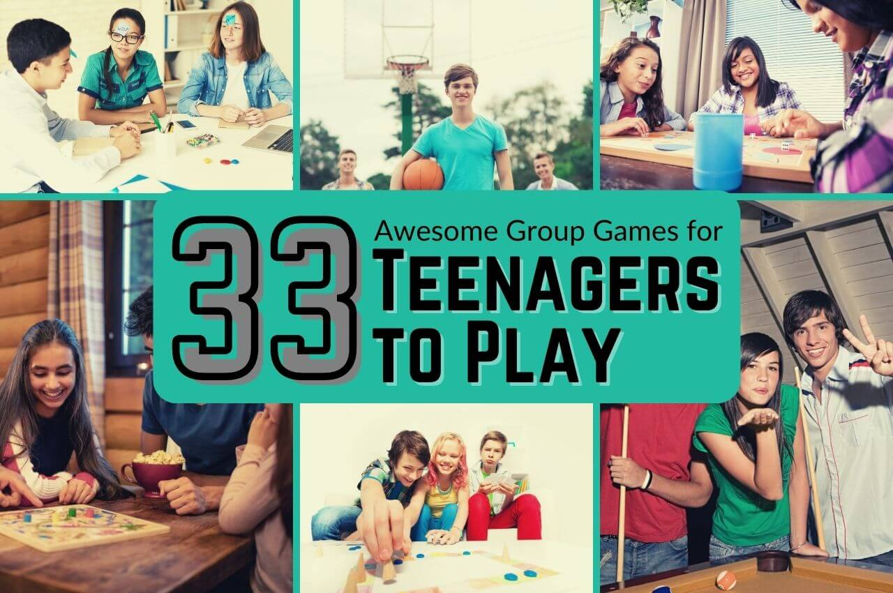 group games for teenagers image