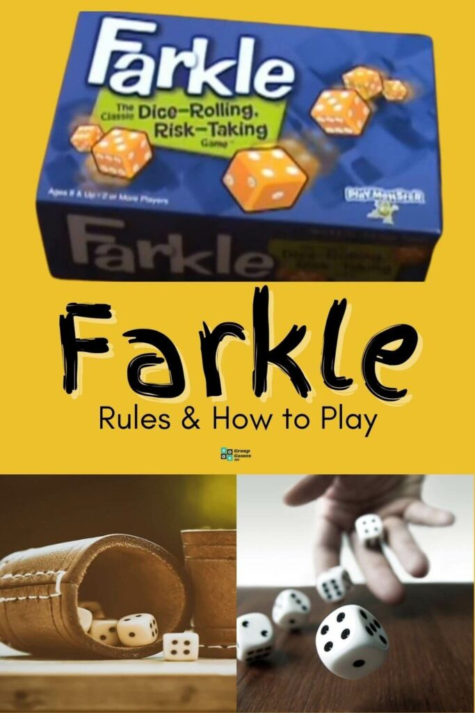 Playing Farkle. Game Rules Image