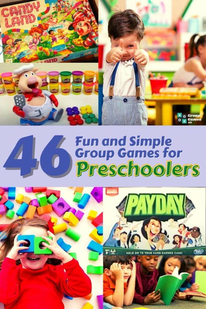 image of group games for preschoolers