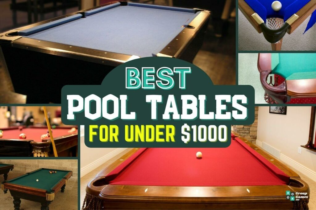 best pool tables under $1000 image