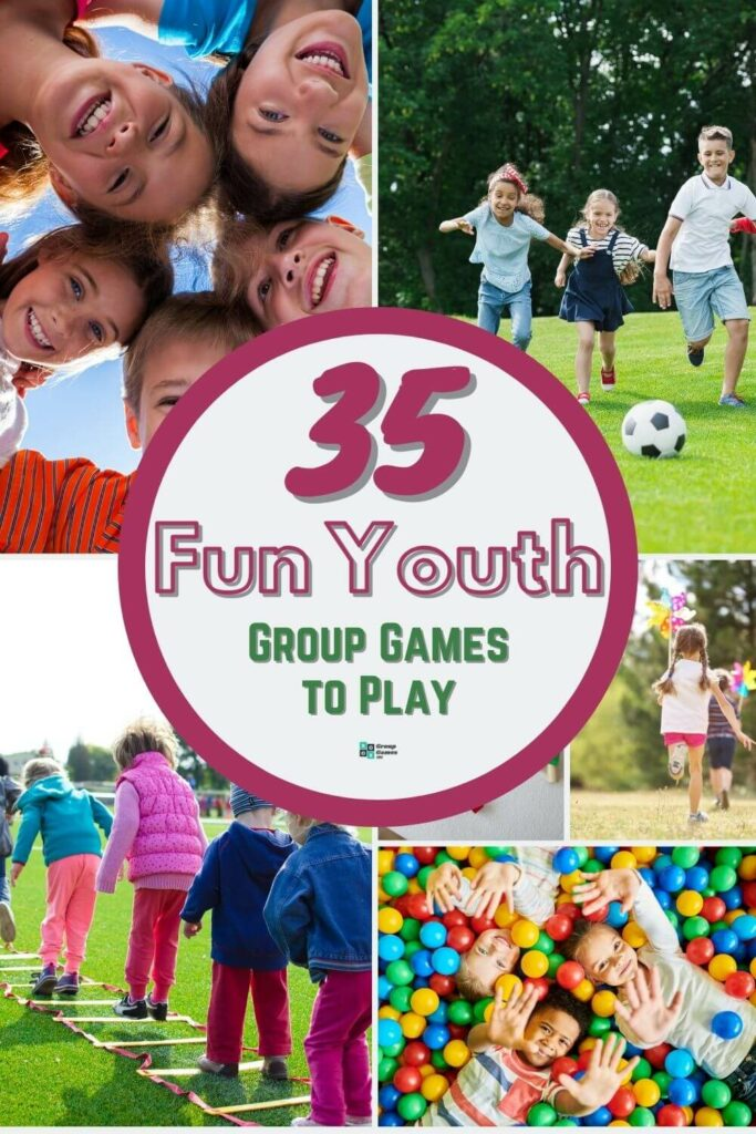 youth group games playing image