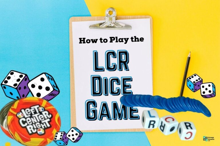 LCR game rules image