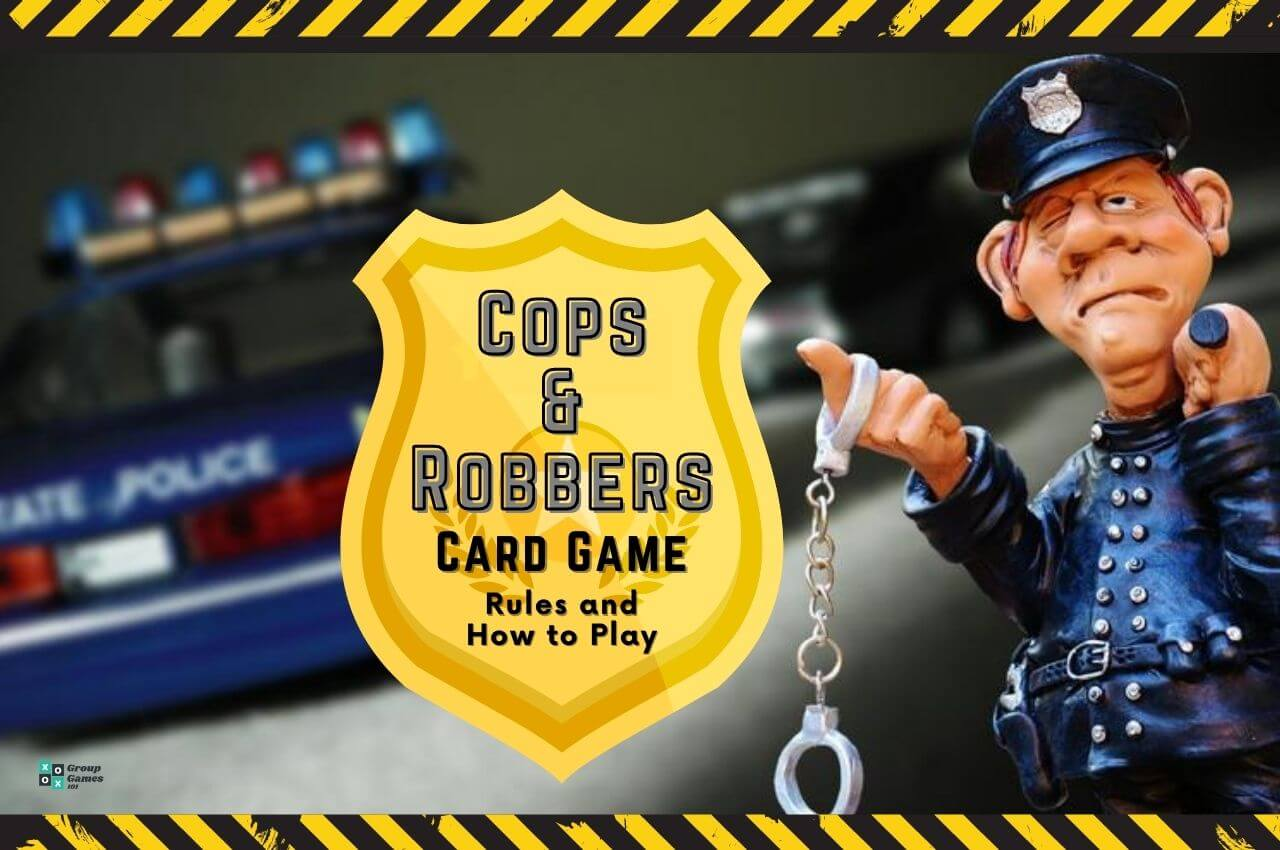 cops and robbers card game image