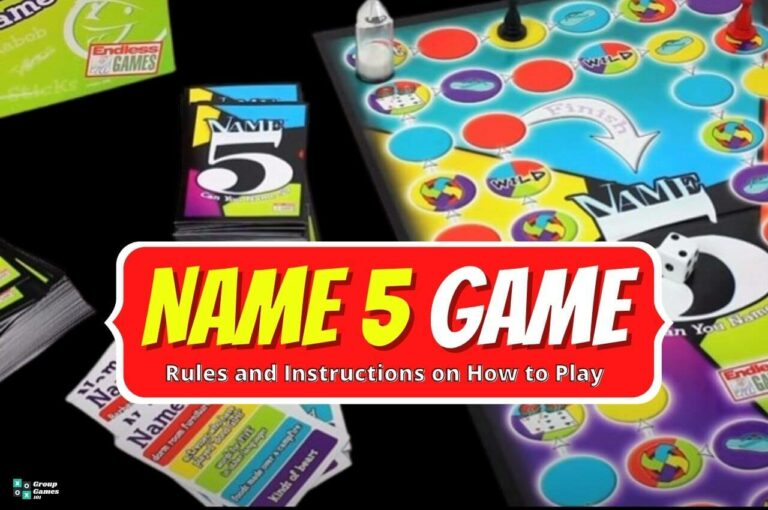 Name 5 game rules image
