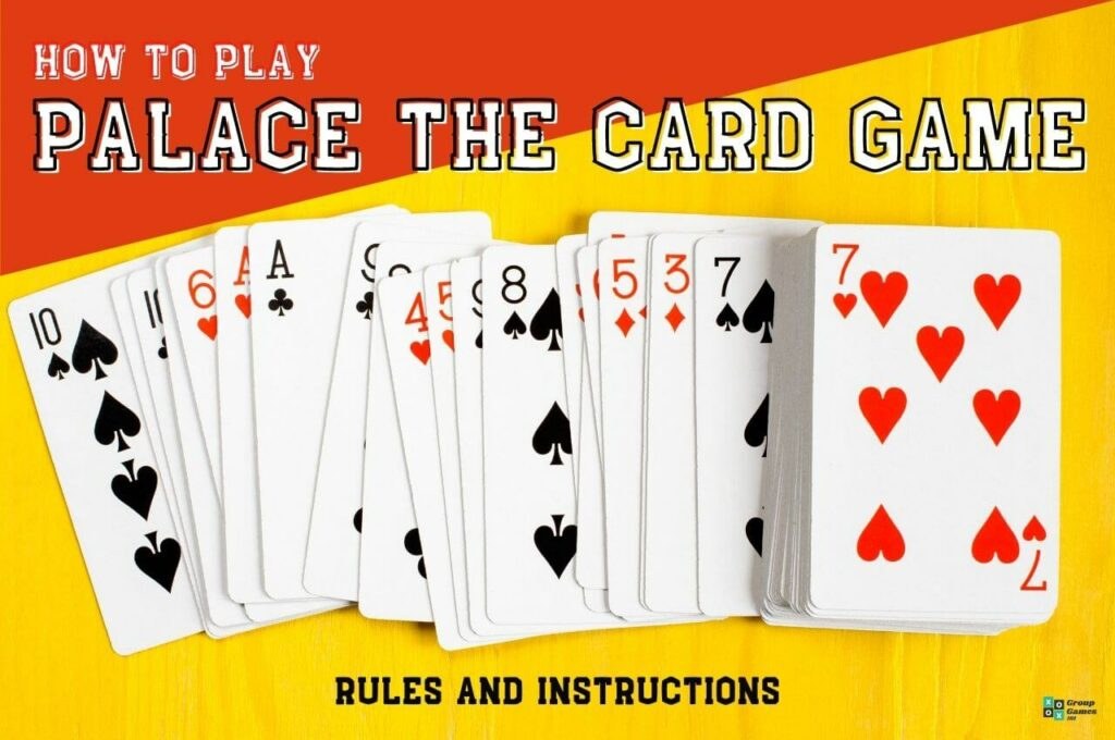 Palace card game rules image