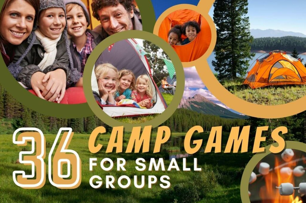 camp games for small groups image