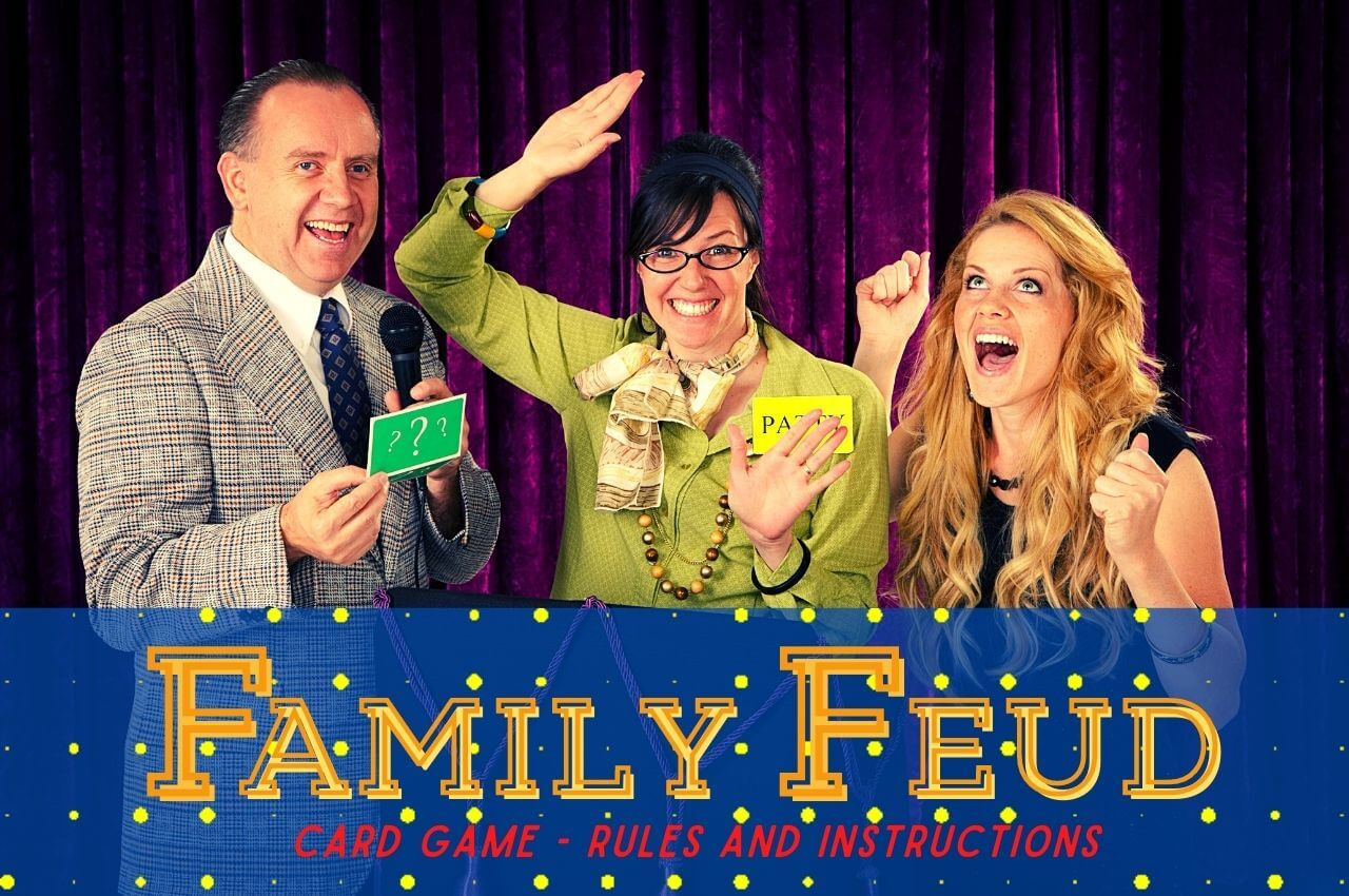 family feud card game rules image