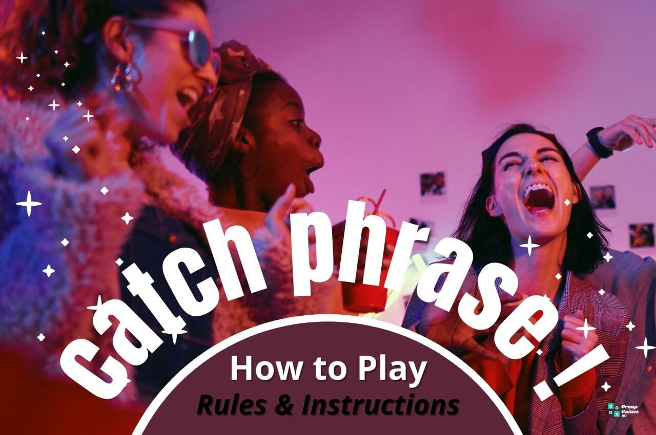 catch phrase rules image