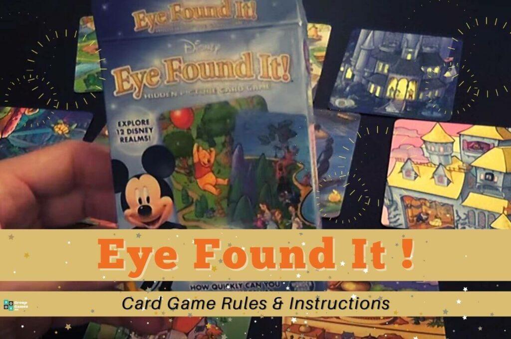 eye found it card game image