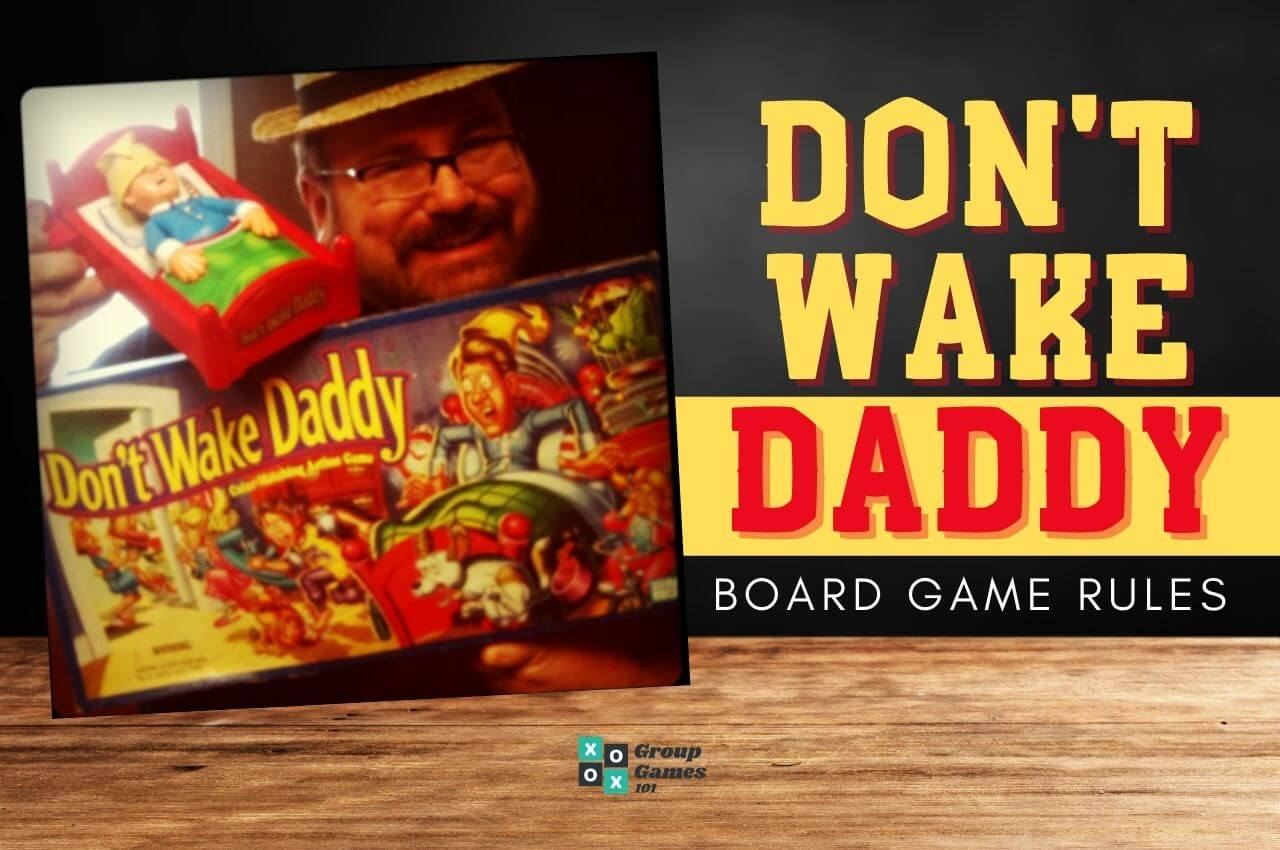 Image of Don't Wake Daddy board game rules