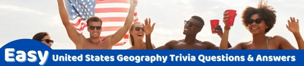easy united states geography trivia questions image