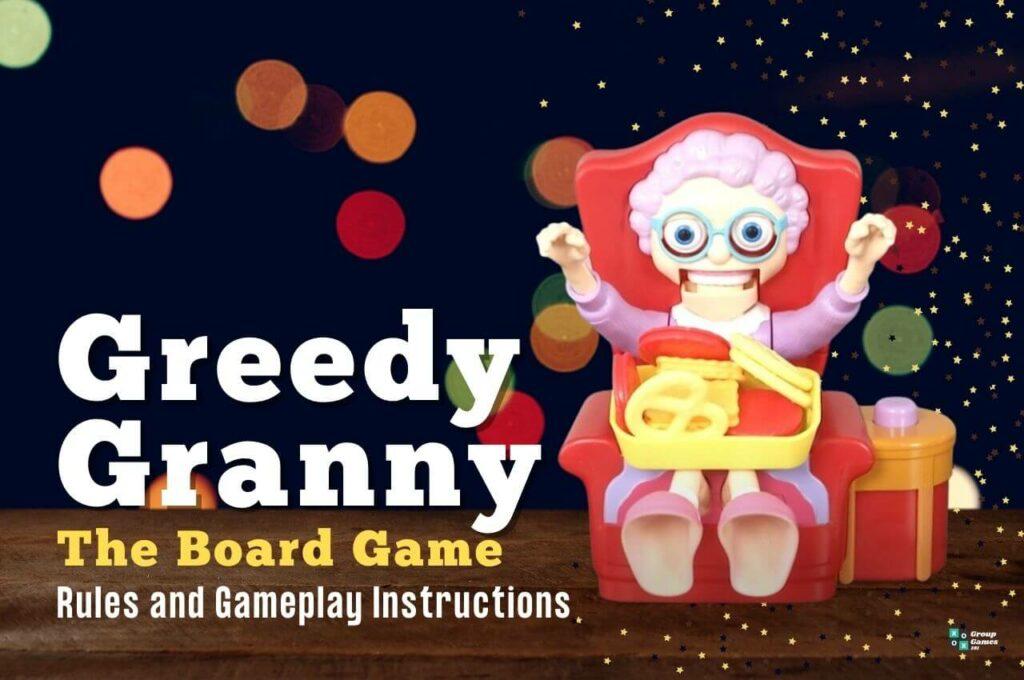 greedy granny board game rules image