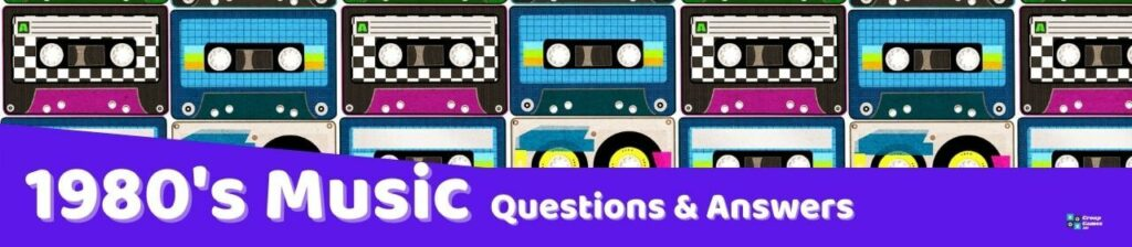music 1980's Trivia Questions and Answers image