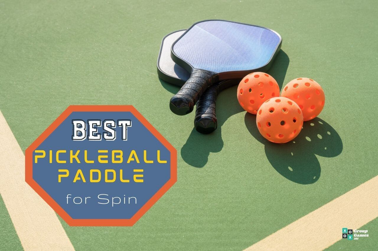 Best Pickleball paddle for spin Image