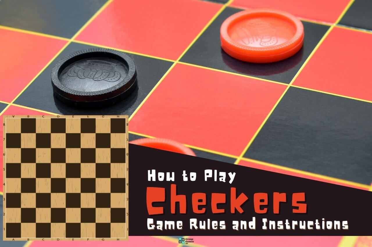 Checkers rules Image