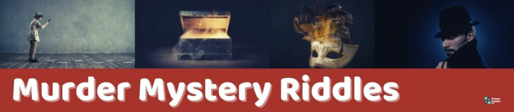 Murder Mystery Riddles Image