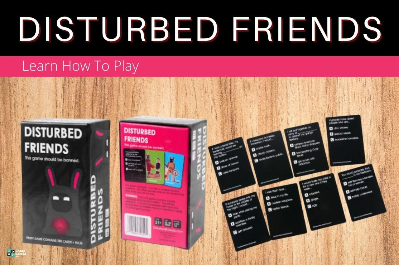 Distrubed Friends rules Image
