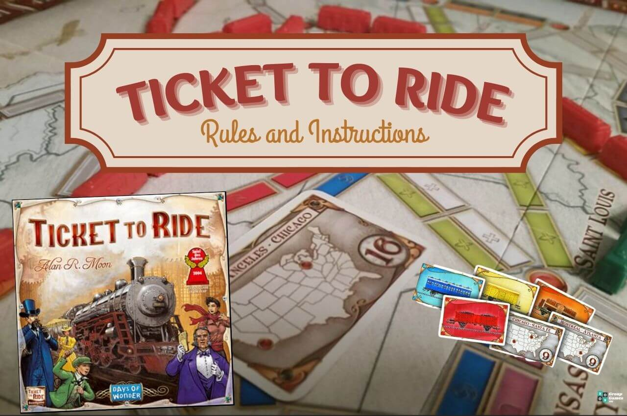Ticket to Ride board game rules Image
